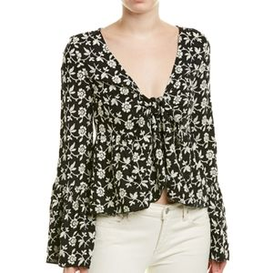 NWT Winston White Floral Embroidered Top